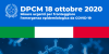 D.P.C.M. 18 Ottobre - Sospensione Campionati